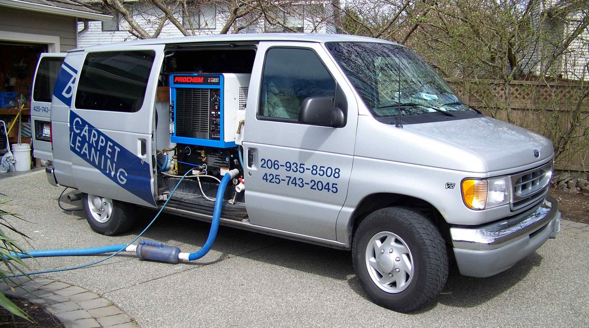high heat truck-mount small Brandons Carpet Cleaning